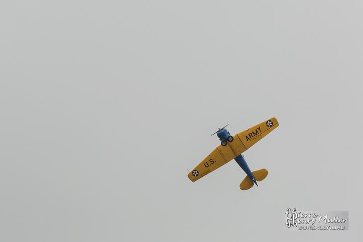 T-6G F-HLEA en démonstration en vol au Bourget