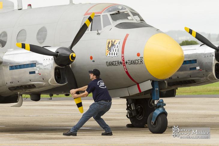 Aération des moteurs du Dassault Flamant MD312