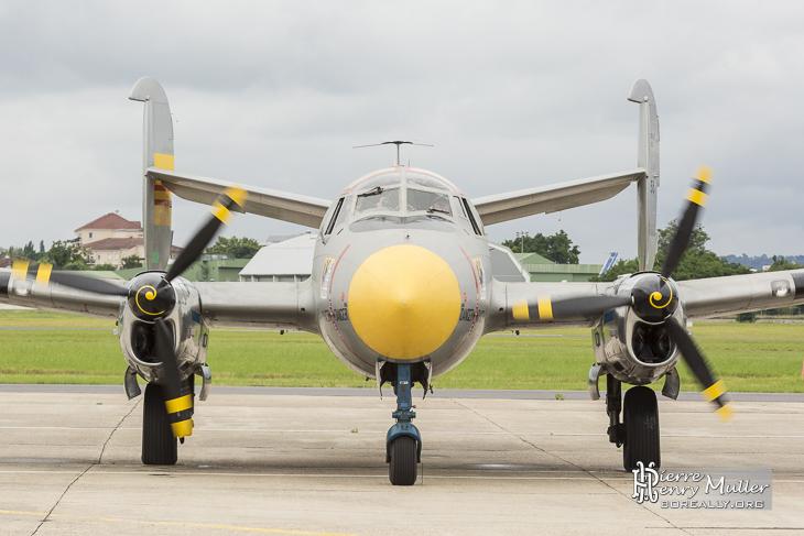 Dassault Flamand de face au Bourget
