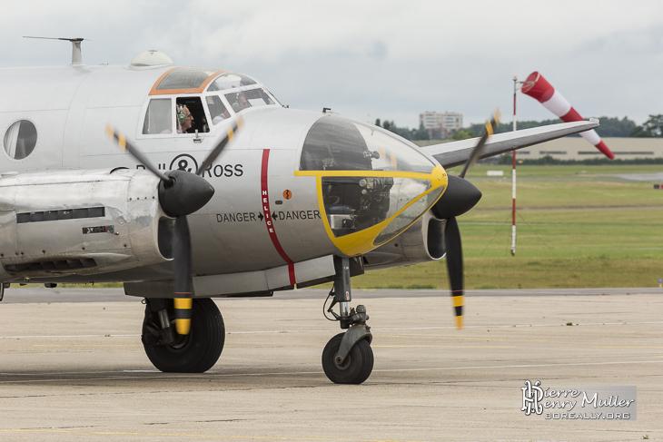 Dassault Flamand prêt pour la démonstration aérienne