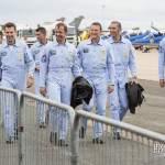 Equipe de pilotes de la Patrouille de France 2014