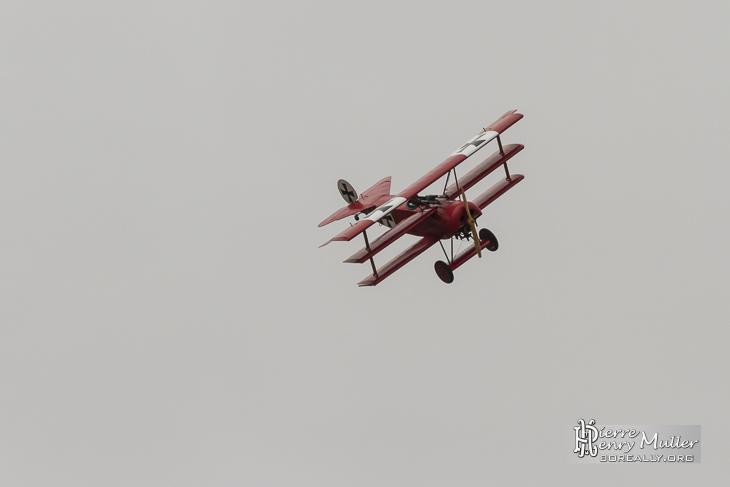 Fokker Triplan pour les 100 ans du Bourget