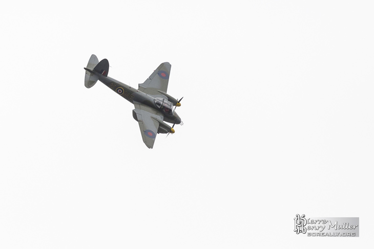Mosquito .75 F-WMOZ en vol au Bourget