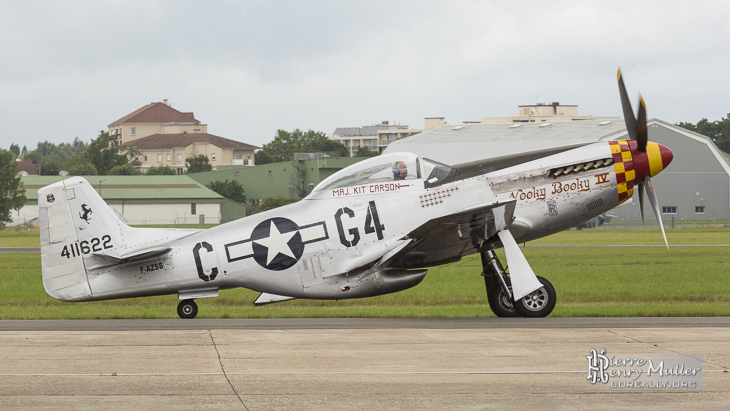 Mustang P-51D Nooky Booky IV au Bourget