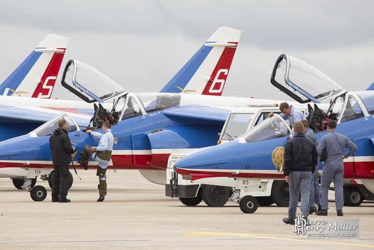 Patrouille de France 2014 embarque pour les 100 ans du Bourget