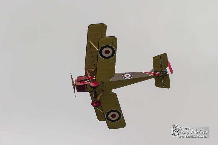 RAF SE5 en démonstration de combat aérien