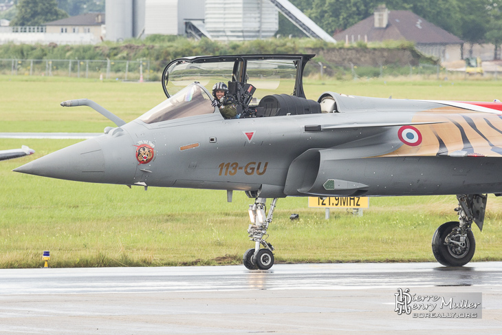 Rafale Solo Display 2014 Capitaine Benoit Planche dit TAO