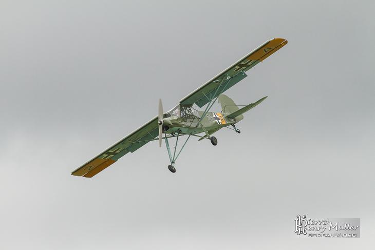Storch en démonstration pour les 100 ans du Bourget