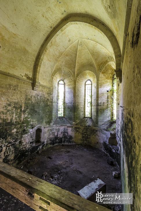 Chapelle de l'Abbaye des Moulineaux en forêt de Rambouillet