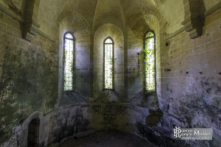 Nef de l'Abbaye des Moulineaux Poigny Rambouillet
