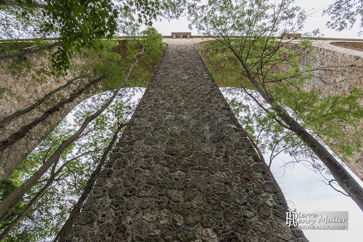 Symétrie du viaduc des Fauvettes à Bures sur Yvettes