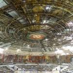 Auditorium avec ses fresques mosaïques et sa coupole