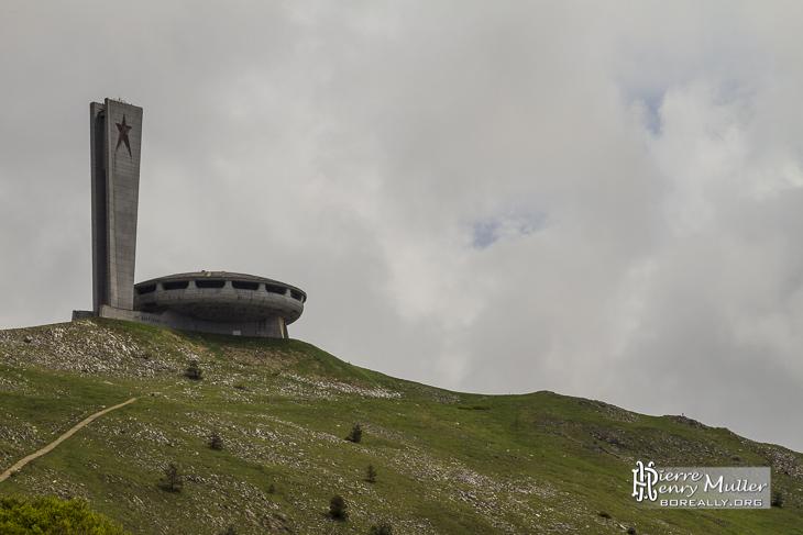 Centre de congrès du mont Buzludzha en Bulgarie