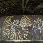 Scène en mosaïque thématique soviétique