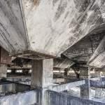 Alignement des déversoirs du lavoir à charbon de Carmaux