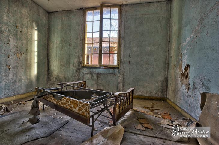 Appartements abandonné dans le village des mineurs de Carmaux