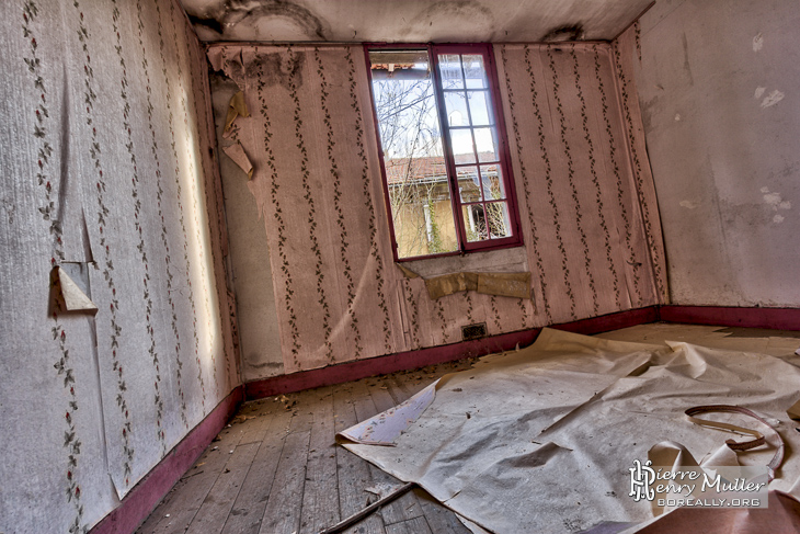 Intérieur des habitations des mineurs de Carmaux