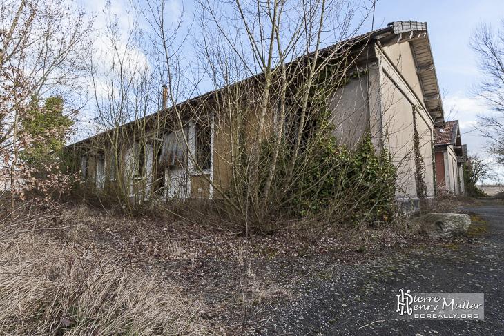 Quartier des habitations des mineurs
