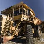 Tombereaux rigides les camions de la mine