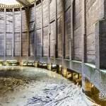 Intérieur de la tour aéroréfrigérante