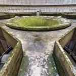 Structure béton pour l'acheminement de l'eau chaude pour la tour aéroréfrigérante