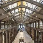 Hall des chaudières à vapeur de la centrale EDF Saint-Denis en TTHDR