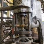 Mécanismes sur une chaudière de la centrale EDF Saint-Denis