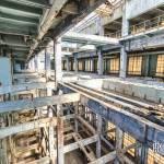 Structure du hall des machines de la centrale EDF Saint-Denis en TTHDR