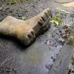 Botte abandonnée à la mine de charbon de Cheratte