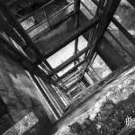 Descenderie d'ascenseur du puits numéro 3 du Hasard de Cheratte