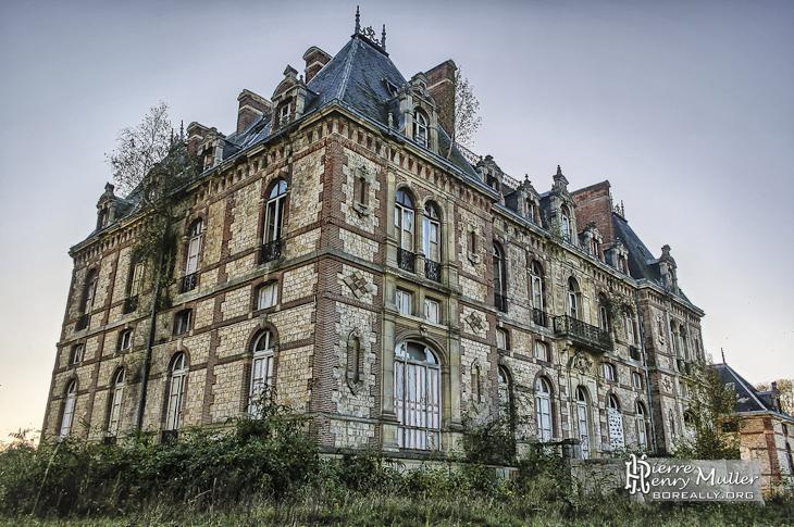 Château de Bonnelles de la duchesse d'Uzès façade nord