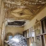 Exemple d'effondrement localisé d'un étage au château de Bonnelles