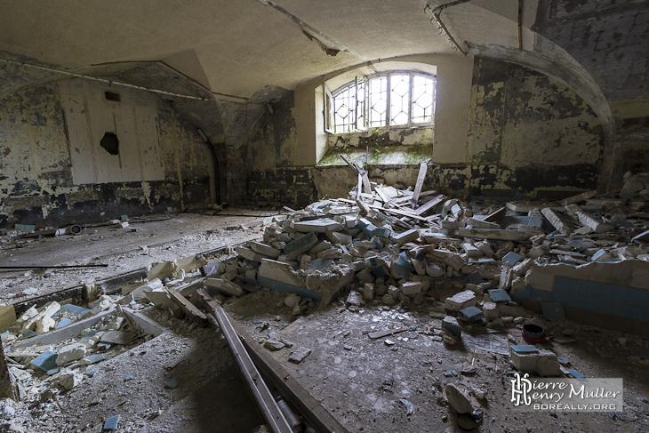 Sous-sol du château de Bonnelles
