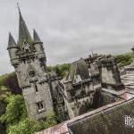 Château de Noisy Miranda depuis les toits en HDR