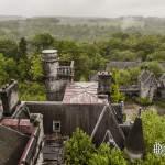 Château Noisy Miranda depuis les toits de la tour centrale
