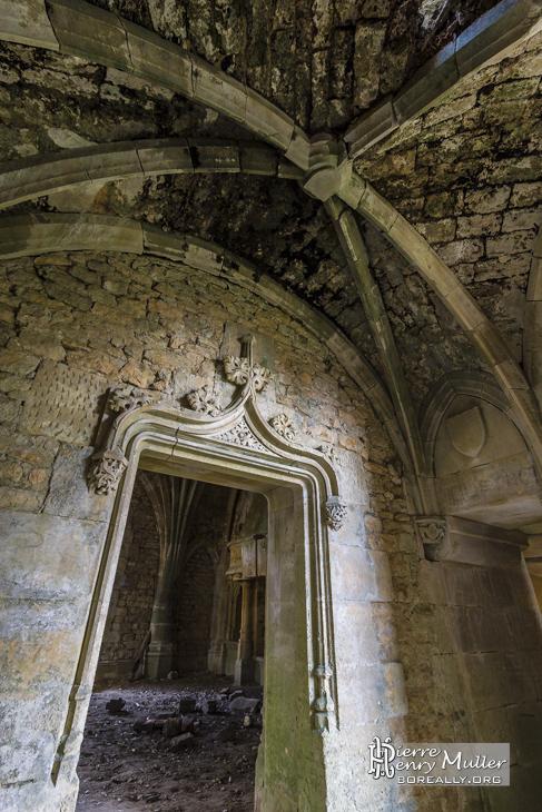 Couloir du château abandonné