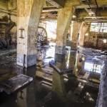 Nappe de pollution dans les sous-sols