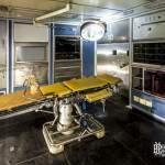 Bloc opératoire à bord du navire Colbert