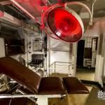 Cabinet médical à bord du croiseur Colbert