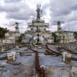 Croiseur Colbert entre la Galissonnière et le Duperré