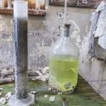 Laboratoire chimique abandonné de la filature à Barentin
