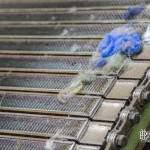 Peignes industriels à la filature