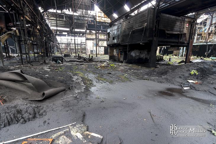 Fonderie Vernon friche industrielle en pleine ville