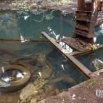 Pollution des sols et de l'eau dans cette friche industrielle