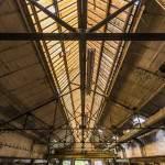 Hangar avec verrière à Clabecq