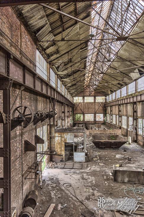 Hangar industriel à Clabecq en TTHDR
