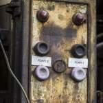 Panneau d'interrupteur de pompes