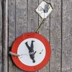 Panneaux d'interdiction de passage