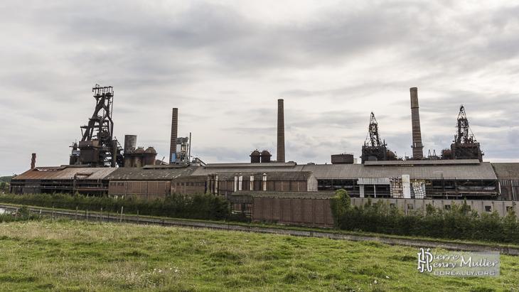 Panorama des forges de Clabecq