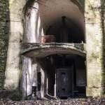 Chaudière à vapeur fonctionnant au charbon de la tourelle Mougin de Domont